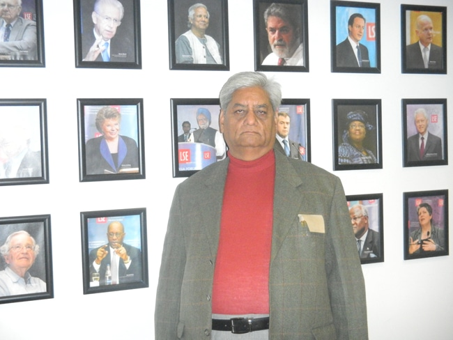 Gulab Kothari at Indo European Trade Seminar