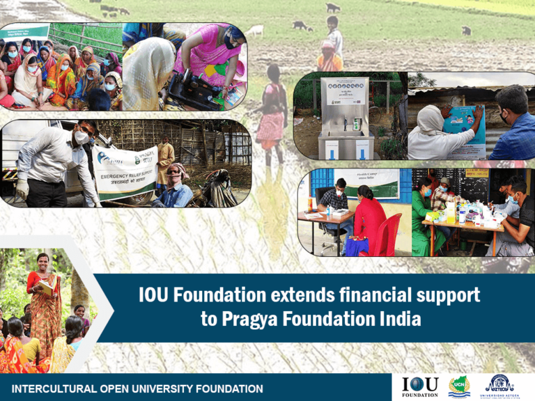IOU Foundation extends financial support to Pragya Foundation India.