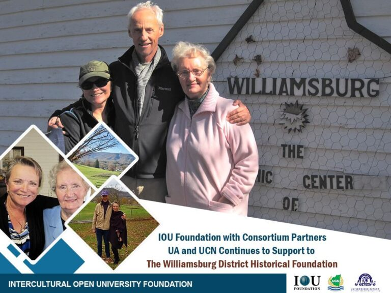 IOU Foundation extends support to Williamsburg District Historical Foundation (WDHF).